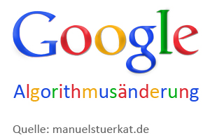 Algorithmus Änderung bei der Suchmaschinen Google
