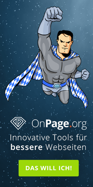 SEO Tools von Onpage.org